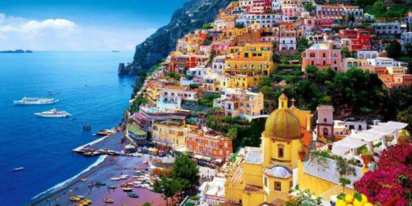 Sorrento ja imeline Amalfi rannik