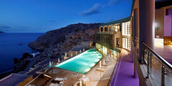 Lindos Blu Luxury Hotel & Suites, Lindos