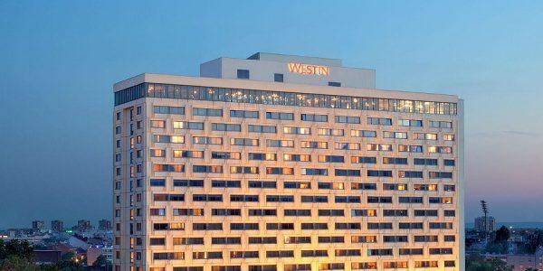 Hotell Westin 4*, deluxe tuba hommikusöök