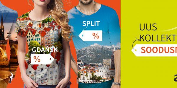 AirBalticu uued suvised sihtkohad
