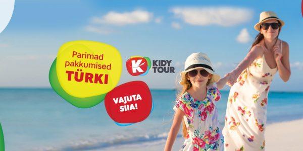Varajane tellija: Kidy Tour suvine Türgi 2019