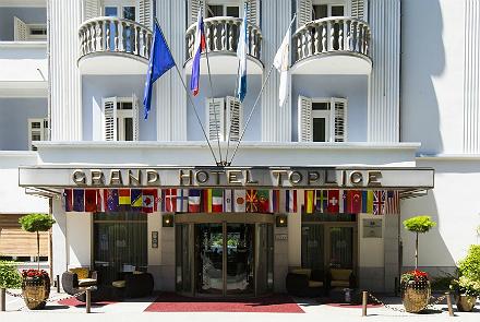 Hotell Grand Hotel Toplice (hommikusöögiga) - individuaalreisijatele