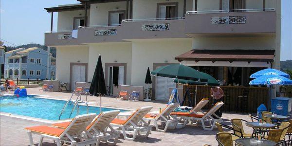 Corfu Inn apartments 30.08.2018, söökideta