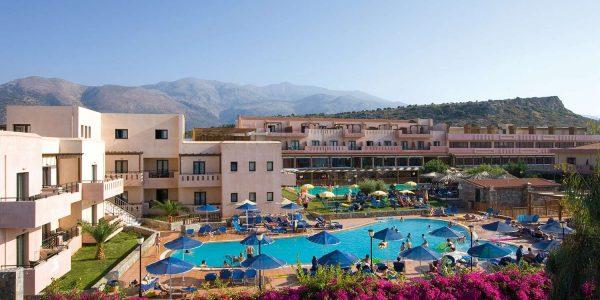 Sentido Vasia Resort & Spa 5* (Sissi), hommiku- ja õhtusöök