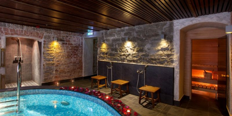 Zen SPA sauna von Stackelberg Hotel Tallinn